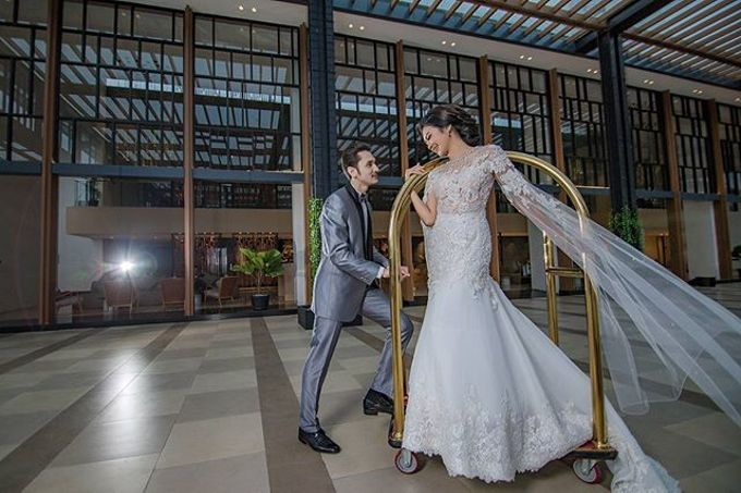 European Wedding Dresses by Gester Bridal & Salon Smart Hair - 004
