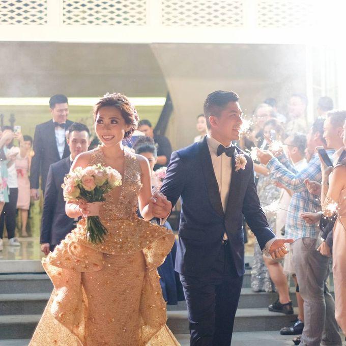 Michael Alinskie and Sherly Fausta Wedding by Rumah Luwih Beach Resort - 029