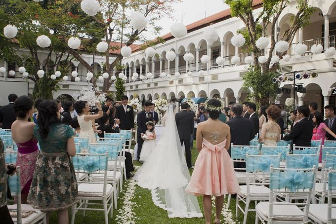 Garden Wedding of Ricky & Inggrid by All Occasions Wedding Planner - 017
