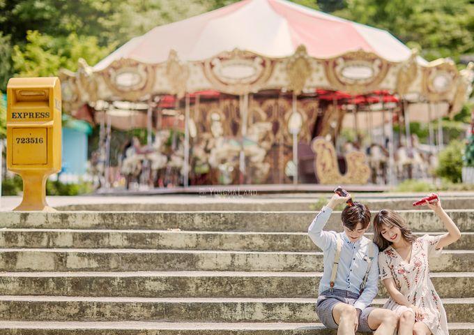 Korea Pre-Wedding Photoshoot - Studio 29 by Willcy Wedding by Willcy Wedding - Korea Pre Wedding - 014