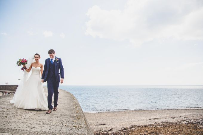 Clare and Ben's Marine Theatre wedding, Lyme Regis by Andrew George Photography - 023