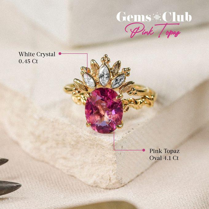 """Gemsclub """"Pink Topaz"""" by Tulola - 019"""