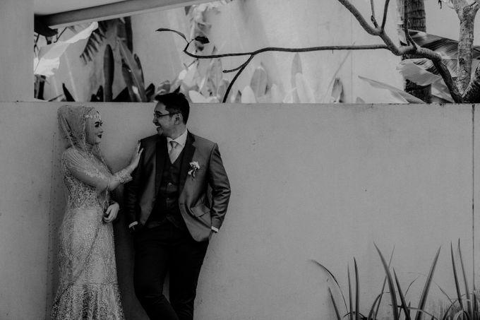Dheafina & Nur Wedding at Azila Villa by AKSA Creative - 024