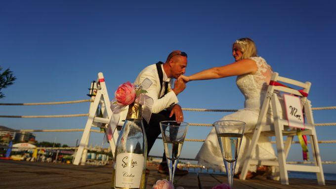 Wedding by the sea in Antalya -Lucy & Daniel- by Wedding City Antalya - 023