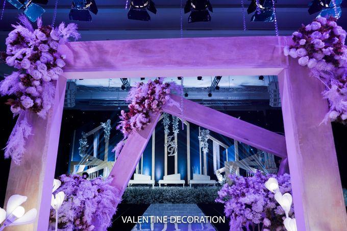 Jason & Devina Wedding Decoration by Valentine Wedding Decoration - 020