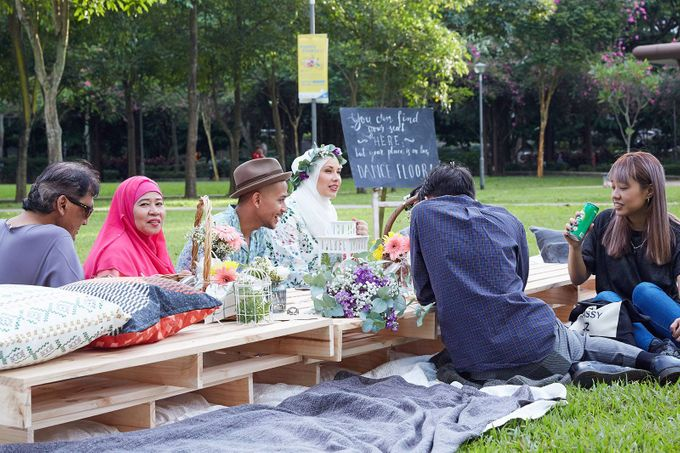 Picnic Wedding at the Park by Megu Weddings - 024