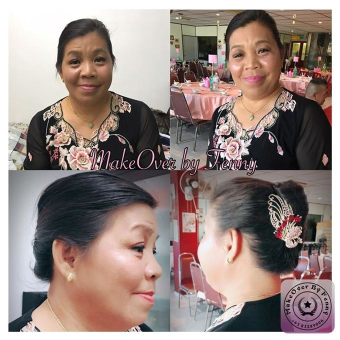 Bridal mum make up and hairdo by Fennymakeupartist - 003