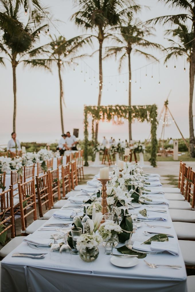 Bali Greenery Rustic with Boho Touch Wedding Decoration by Eurasia Wedding - 014