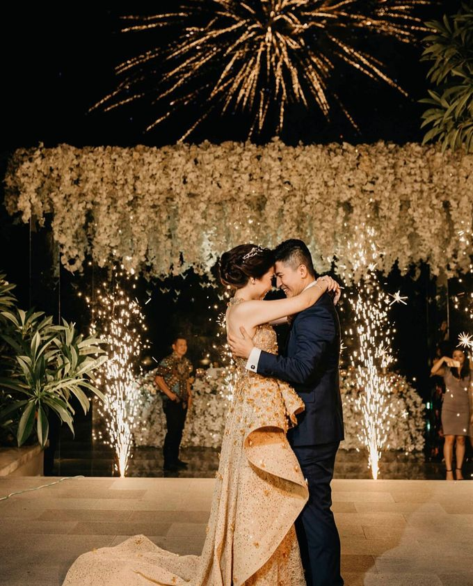 Michael Alinskie and Sherly Fausta Wedding by Rumah Luwih Beach Resort - 040