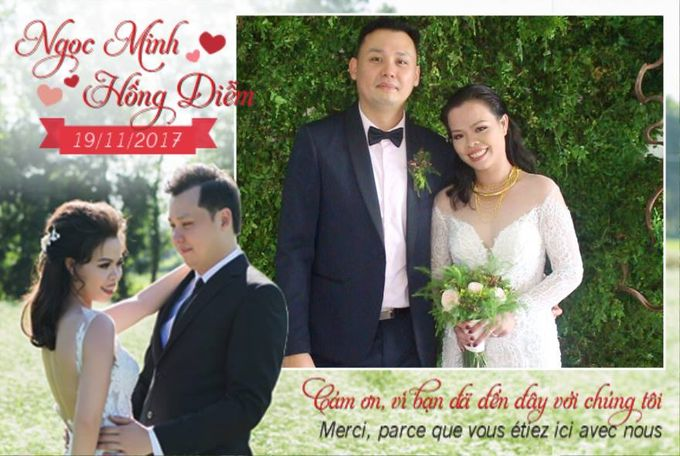 Ngoc Minh & Hong Diem Wedding by PicCell Vietnam - 001