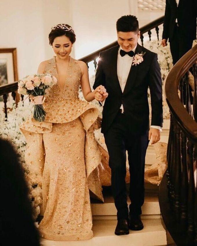 Michael Alinskie and Sherly Fausta Wedding by Rumah Luwih Beach Resort - 037