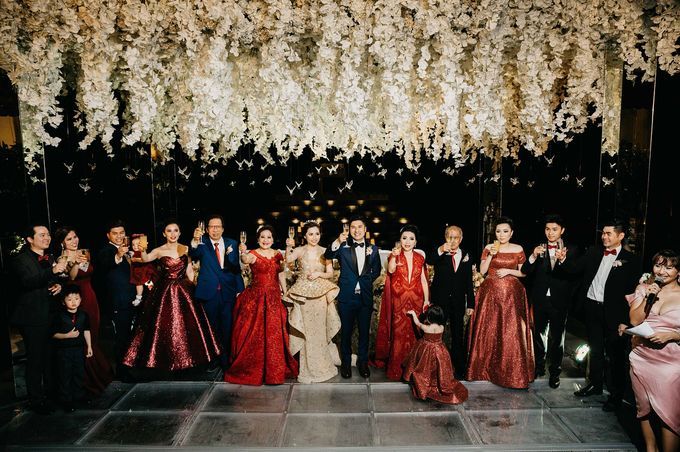 Michael Alinskie and Sherly Fausta Wedding by Rumah Luwih Beach Resort - 035
