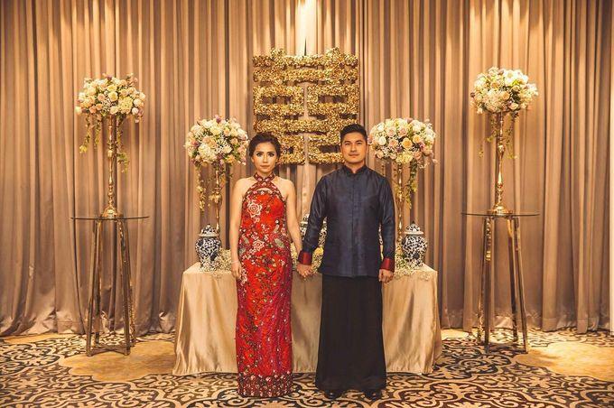 Michael Alinskie and Sherly Fausta Wedding by Rumah Luwih Beach Resort - 034