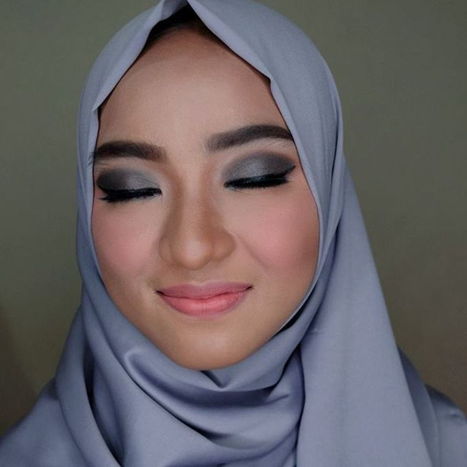 Hijab Bridesmaids by Arini Makeup Artist - 011