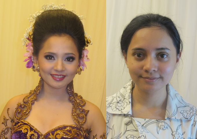 Before - After MakeUp & Hair Do by Andiyanto Salon - 007