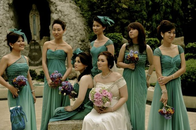 BRIDAL ENTOURAGE by Peter Lim - 001