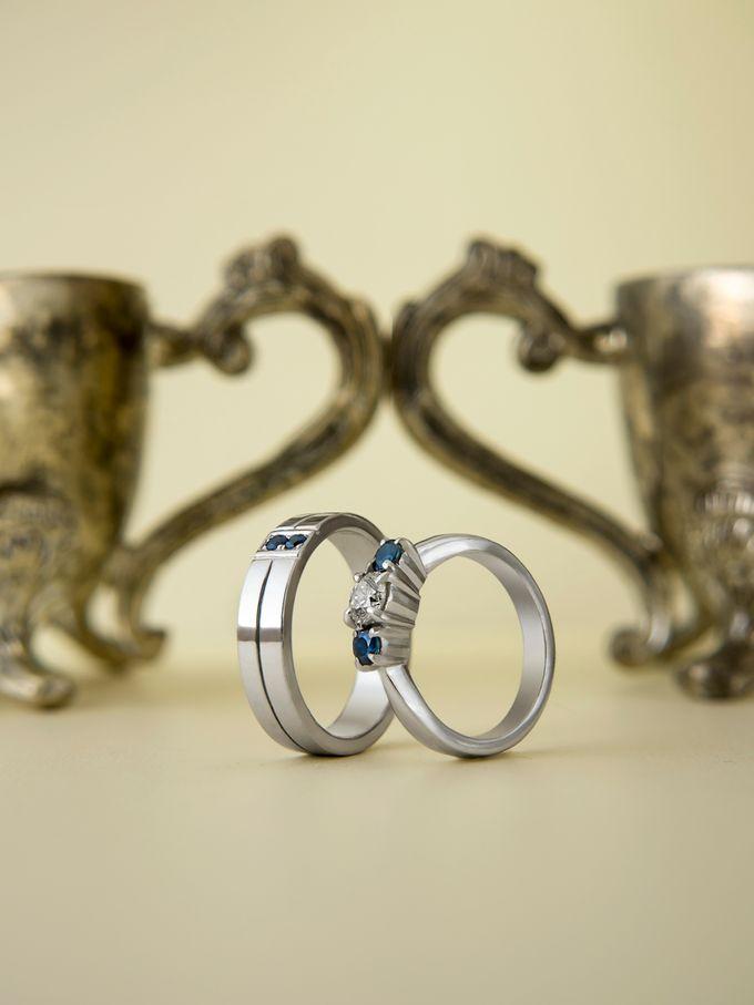 Sora wedding rings by Reine - 002
