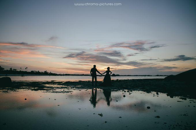 Herman & Vian Prewedding by Chroma Pictures - 002