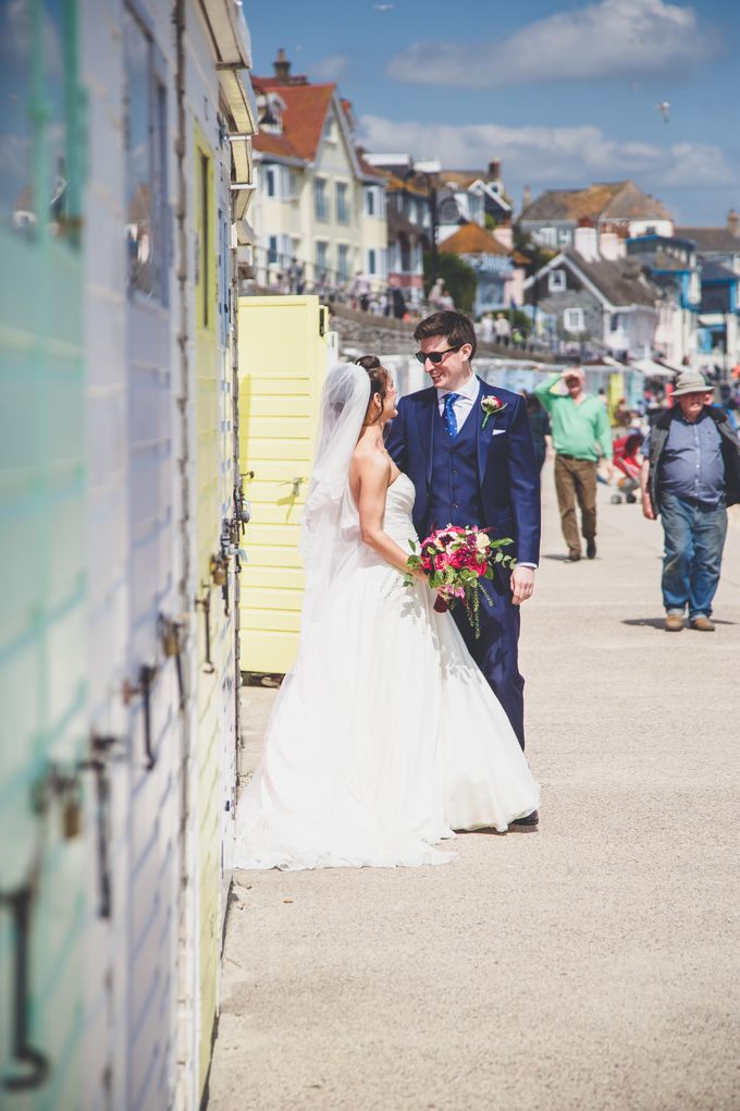 Clare and Ben's Marine Theatre wedding, Lyme Regis by Andrew George Photography - 024