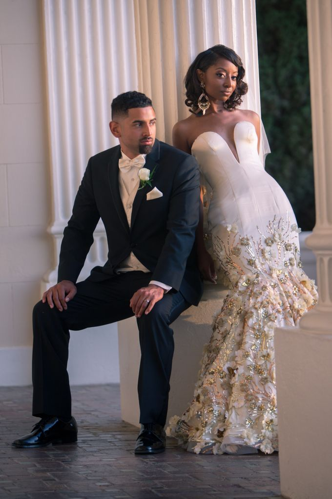 Couture Gold Wedding Gown by Desiree Spice - 005