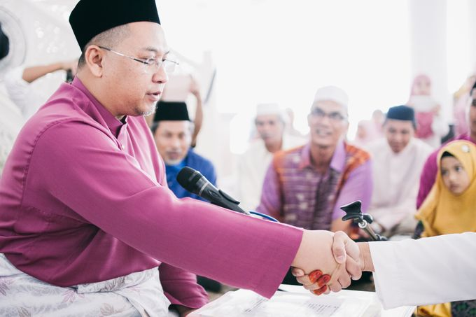The Solemnization of Alya and Amir by Hanif Fazalul Photography & Cinematography - 007