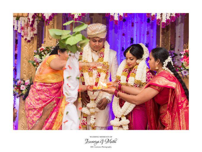 Wedding of Ishwariya & Mathi by DR Creations - 024