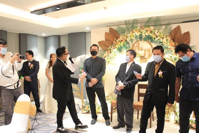 MC Wedding Double V Entertainment at JHL Solitaire Serpong by Double V Entertainment - 008