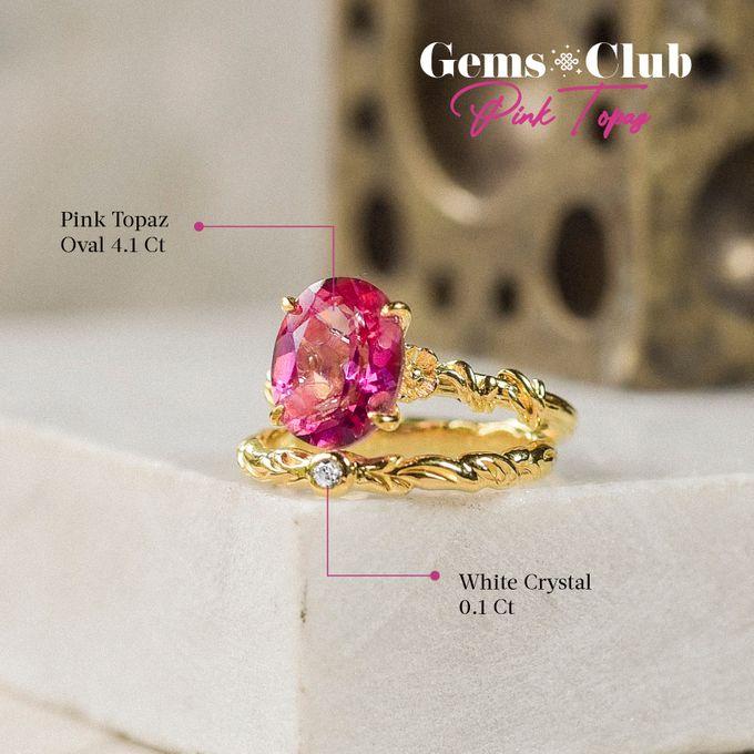 """Gemsclub """"Pink Topaz"""" by Tulola - 023"""