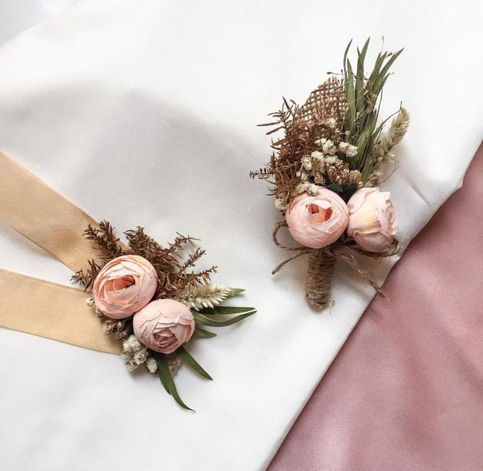 Boutonniere & Corsage by Rose For You - 025