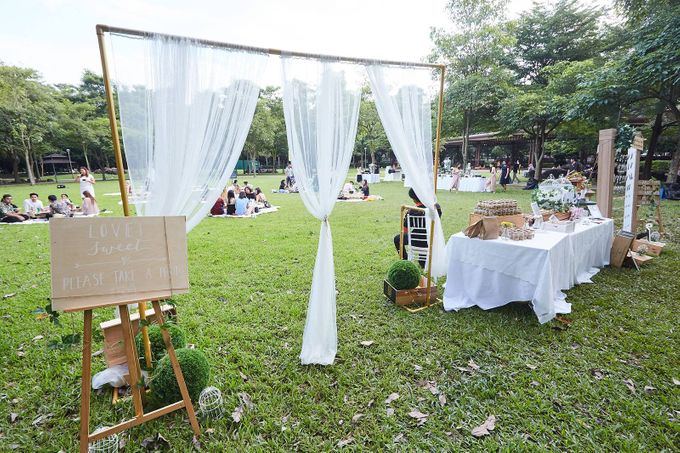 Picnic Wedding at the Park by Megu Weddings - 025