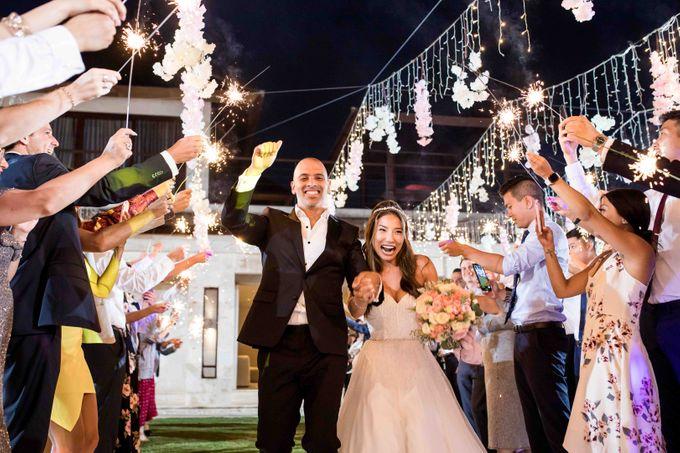 Ashley & Alan Wedding by The edge - 007