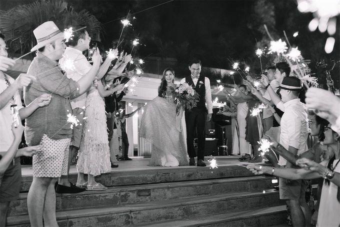 The Wedding of Donald & Larissa by BDD Weddings Indonesia - 026