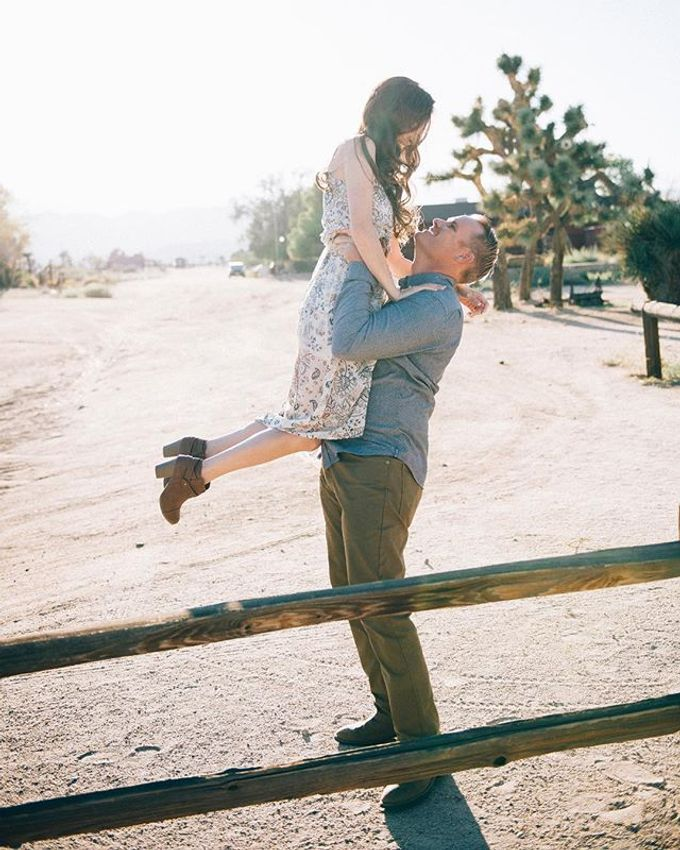 Pioneertown Engagement The Desert is Full of Wildflowers and Lovebirds by Pretty Branch Wedding Photo & Video - 002