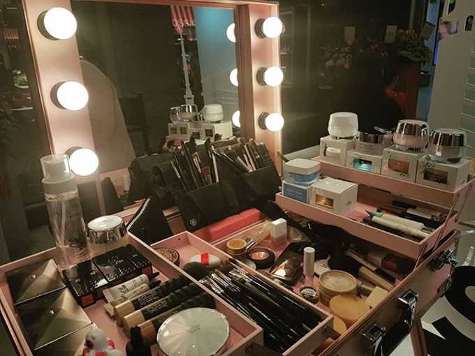 Bridal makeup by Jinnie Lee Korean Makeup & Hair - 005