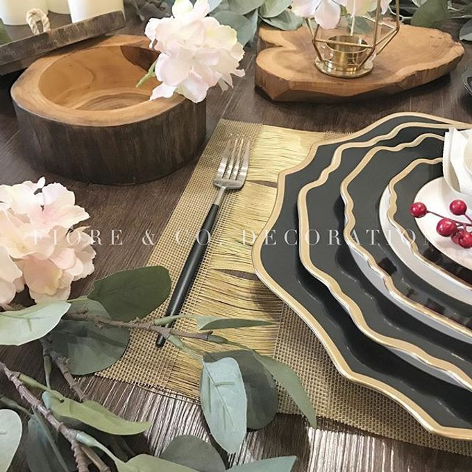RUSTIC INSPIRED TABLE SETTING by FIORE & Co. Decoration - 002