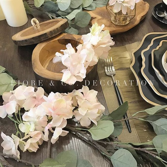 RUSTIC INSPIRED TABLE SETTING by FIORE & Co. Decoration - 004