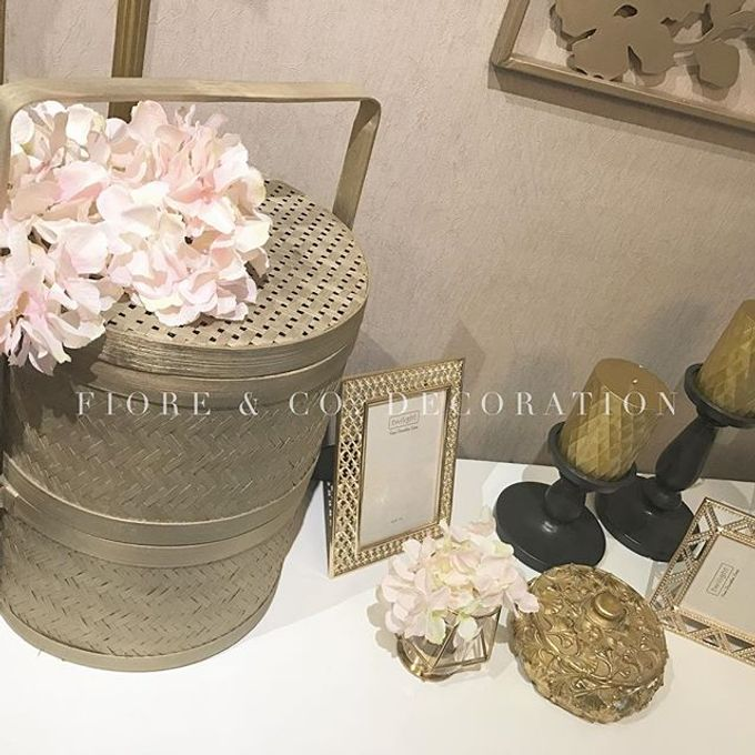 PASTEL-GLAM MINI GALLERY by FIORE & Co. Decoration - 001