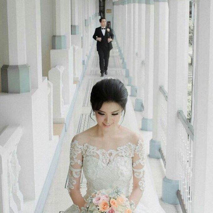 European Wedding Dresses by Gester Bridal & Salon Smart Hair - 007