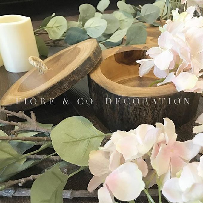 RUSTIC INSPIRED TABLE SETTING by FIORE & Co. Decoration - 001