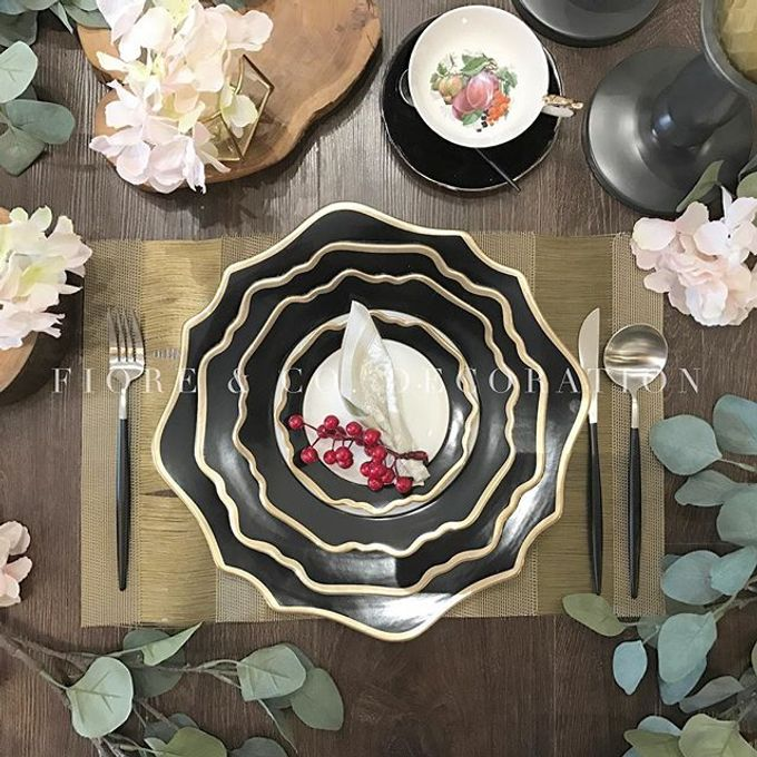 RUSTIC INSPIRED TABLE SETTING by FIORE & Co. Decoration - 003