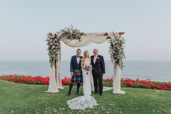 Beautiiful Clifftop Wedding of Kyle & Kelly by Silverdust Decoration - 007