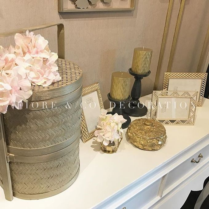 PASTEL-GLAM MINI GALLERY by FIORE & Co. Decoration - 002