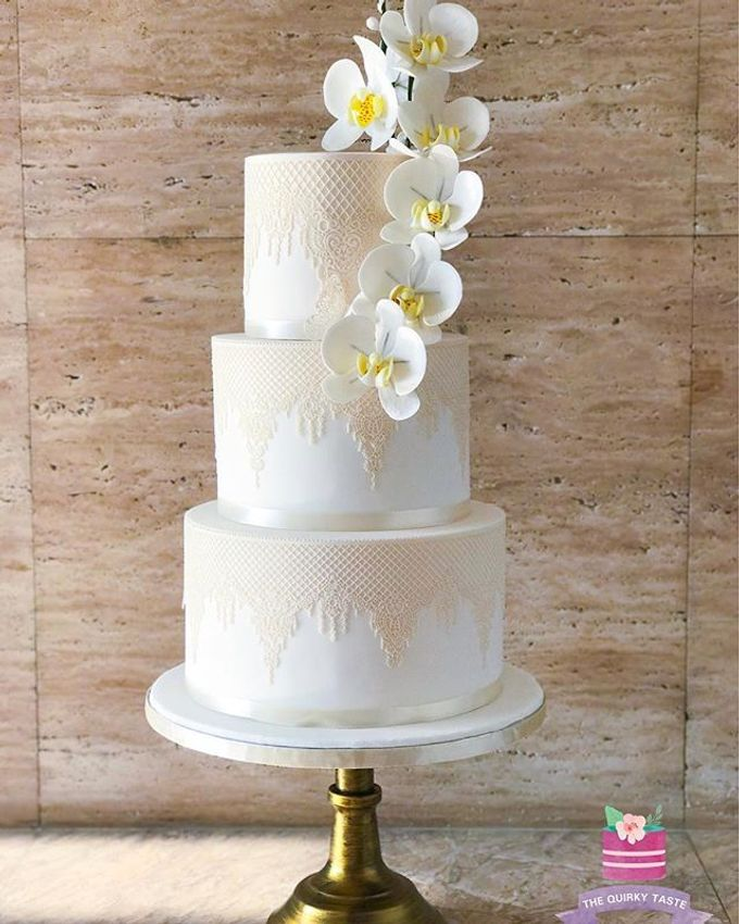 Wedding Cakes by The Quirky Taste - 023