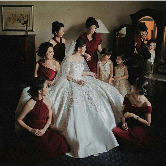 European Wedding Dresses by Gester Bridal & Salon Smart Hair - 008