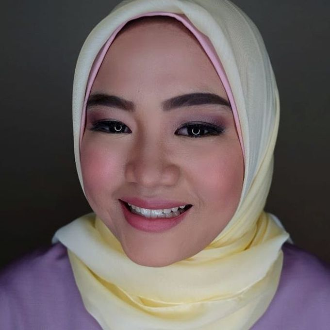 Hijab Bridesmaids by Arini Makeup Artist - 003