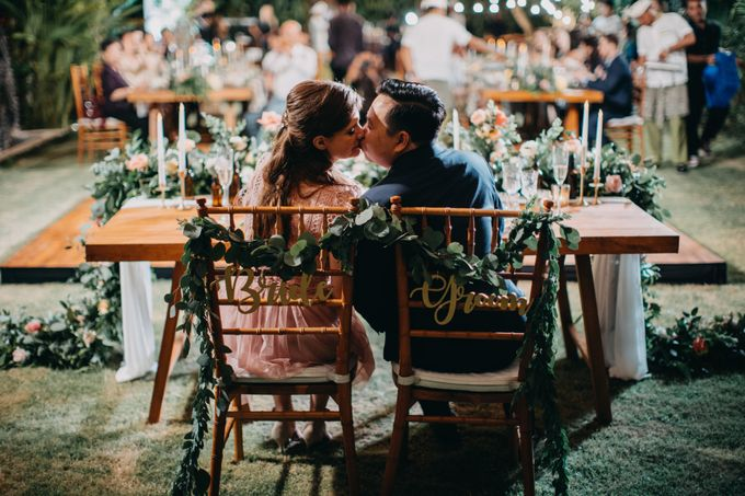 Sweet Rustic Wedding at New Kuta Golf & Villa Bayu Bali by Silverdust Decoration - 003