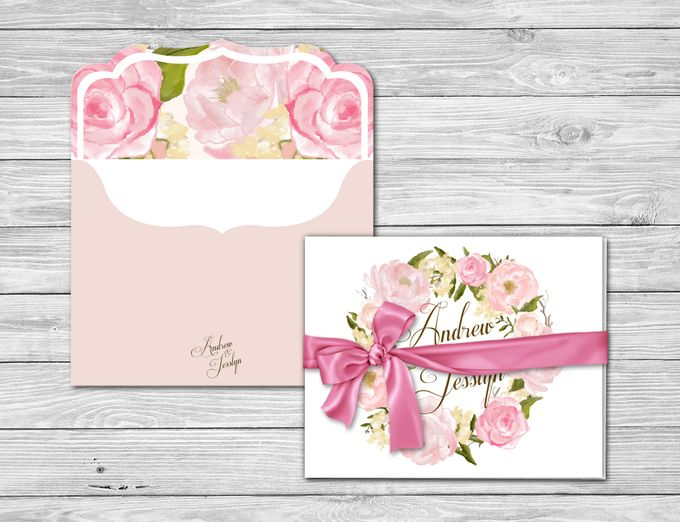 Floral Crown Watercolor Style by Jolly's Little Dreams - 002