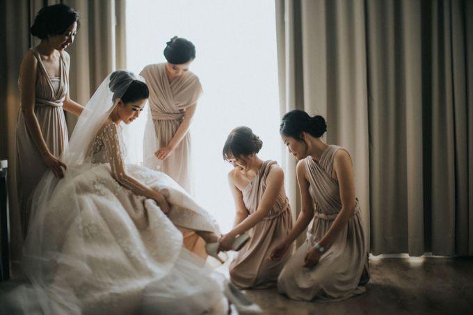 Ibnu & Michelle The Wedding by Imelda Hudiyono Bride - 001