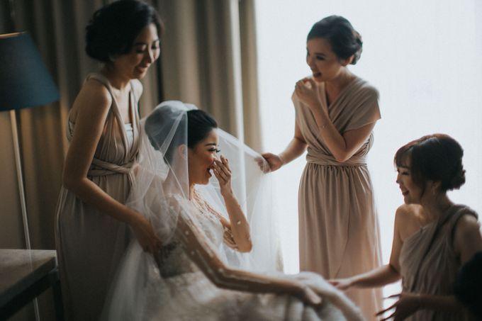 Ibnu & Michelle The Wedding by Imelda Hudiyono Bride - 002