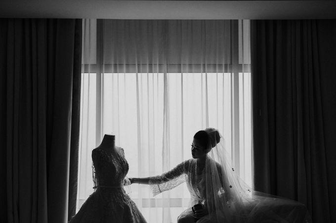 Ibnu & Michelle The Wedding by Imelda Hudiyono Bride - 003